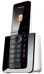 Радиотелефон Panasonic Dect KX-PRS110RUW белый/черный АОН