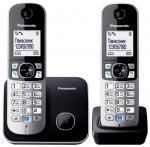 Panasonic KX-TG6812RUB черный